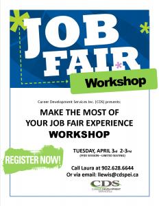 Job Fair workshop